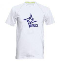 Мужская спортивная футболка Metallica Logotype - FatLine