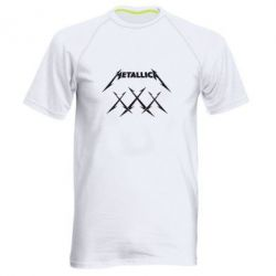 Мужская спортивная футболка Metallica XXX