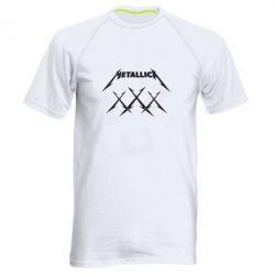 Мужская спортивная футболка Metallica XXX - FatLine