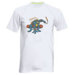 Мужская спортивная футболка Микеланджело - FatLine