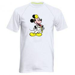 Мужская спортивная футболка Микки Доктор - FatLine