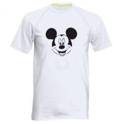 Мужская спортивная футболка Микки Маус - FatLine