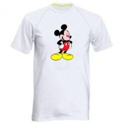 Мужская спортивная футболка Микки - FatLine