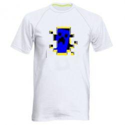 Мужская спортивная футболка Minecraft 3D - FatLine