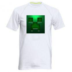 Мужская спортивная футболка Minecraft Face - FatLine