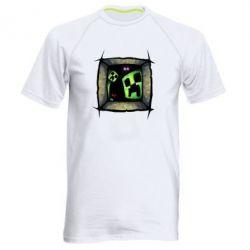 Мужская спортивная футболка Minecraft Game - FatLine