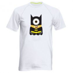 Мужская спортивная футболка Minion Batman - FatLine