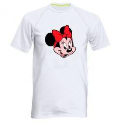 Мужская спортивная футболка Минни Маус - FatLine