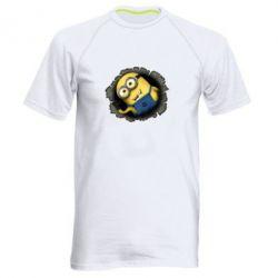 Мужская спортивная футболка Миньон - FatLine