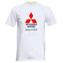 Мужская спортивная футболка Mitsubishi Motors - FatLine