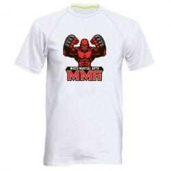 Мужская спортивная футболка MMA Fighter 2 - FatLine