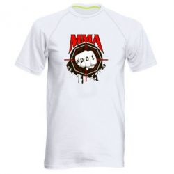 Мужская спортивная футболка MMA Spot - FatLine