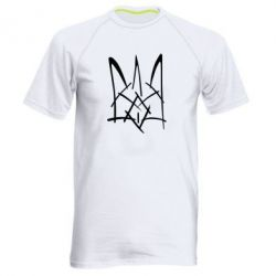 Мужская спортивная футболка Молодіжний герб - FatLine