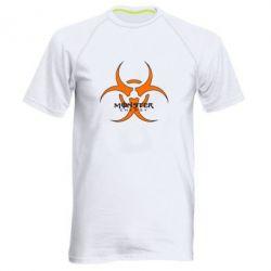 Мужская спортивная футболка Monster Energy Biohazard - FatLine