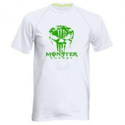 Мужская спортивная футболка Monster Energy Череп - FatLine