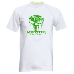 Мужская спортивная футболка Monster Energy Череп