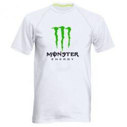Мужская спортивная футболка Monster Energy Classic - FatLine
