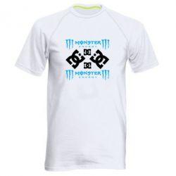 Мужская спортивная футболка Monster Energy DC Logo - FatLine