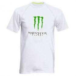 Мужская спортивная футболка Monster Energy Logo - FatLine