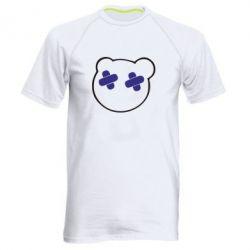 Мужская спортивная футболка мордочка - FatLine