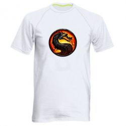 Мужская спортивная футболка Mortal Combat - FatLine