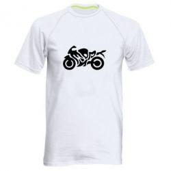 Мужская спортивная футболка MOTO SPORT - FatLine