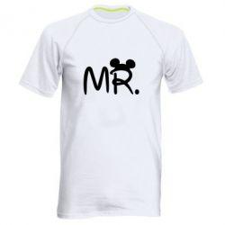 Мужская спортивная футболка Mr. - FatLine