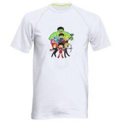 Мужская спортивная футболка Мститети в сборе - FatLine