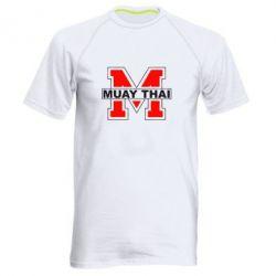 Мужская спортивная футболка Muay Thai Big M - FatLine