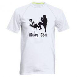 Мужская спортивная футболка Muay Thai Fighters - FatLine