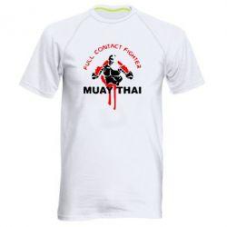 Мужская спортивная футболка Muay Thai Full Contact - FatLine