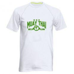Мужская спортивная футболка Muay Thai Hard Body - FatLine