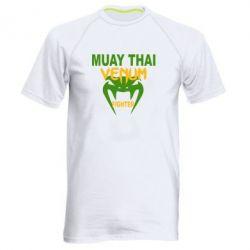 Мужская спортивная футболка Muay Thai Venum Fighter - FatLine