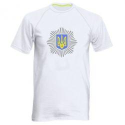 Мужская спортивная футболка МВС України
