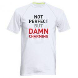 Чоловіча спортивна футболка Не кращий але з біса привабливий