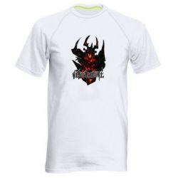 Мужская спортивная футболка Nevermore Art