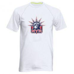 Мужская спортивная футболка New York Rangers - FatLine