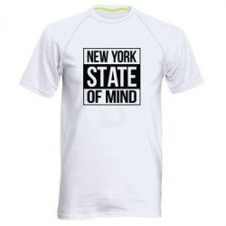Чоловіча спортивна футболка New York state of mind