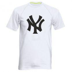 Мужская спортивная футболка New York yankees - FatLine