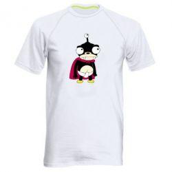 Мужская спортивная футболка Нибблер - FatLine