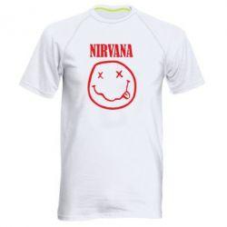 Чоловіча спортивна футболка Nirvana (Нірвана) - FatLine