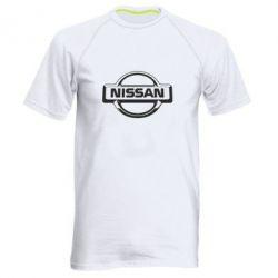 Мужская спортивная футболка Nissan Logo - FatLine