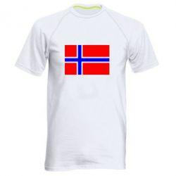 Мужская спортивная футболка Норвегия - FatLine