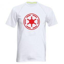 Мужская спортивная футболка Новый герб Империи - FatLine