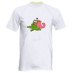 Мужская спортивная футболка Обнимашки цветные, FatLine  - купить со скидкой