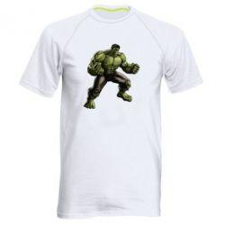 Мужская спортивная футболка Очень злой Халк - FatLine