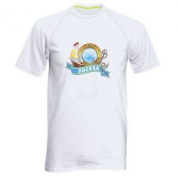 Мужская спортивная футболка Одесса - FatLine