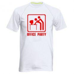 Мужская спортивная футболка Office Party - FatLine