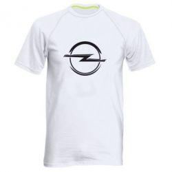 Мужская спортивная футболка Opel Log - FatLine