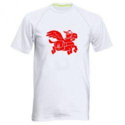 Мужская спортивная футболка Осел-курьер (Dota 2) - FatLine